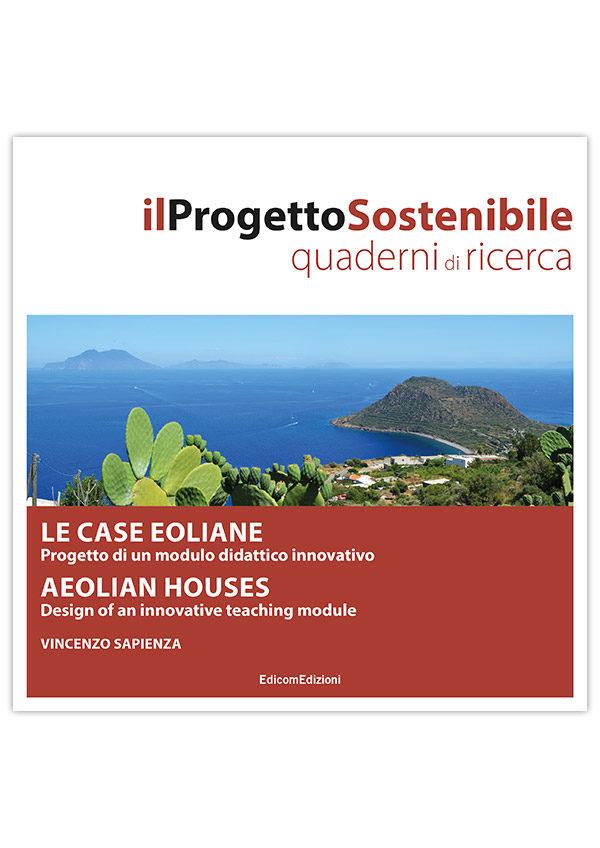 copertina Le case eoliae. Aeolian Houses