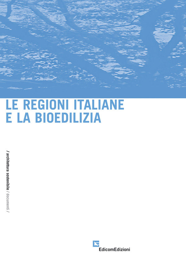 copertina Le regioni italiane e la bioedilizia