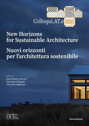 copertina New Horizons for Sustainable Architecture